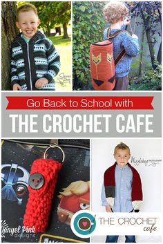 Go Back to School with The Crochet Cafe (Blog)