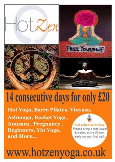 for the love of yoga and all we do- give us 14 days we will change your mind- 30 and we will change your life!