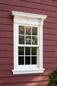 Perfect Alternative To Shutters   Exterior Window Trim
