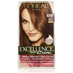 Exc H/C Red Brn  #HairColoringProducts