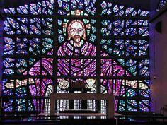 Resultado de imagen para vitrales religiosos modernos