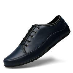 Luxury Shoes Men Fashion Sapato New Chaussure De Pour Hommes 2016 Sapatenis Hombre Casual Zapatos Size 36 37 to 45 Black Blue