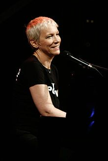 Annie Lennox - saw her at the Closing Ceremony - she's still got it!