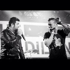 Greg Puciato and Chino Moreno @deftonesband from the Revolver Golden God Awards last year. Repost from @revolvermag
