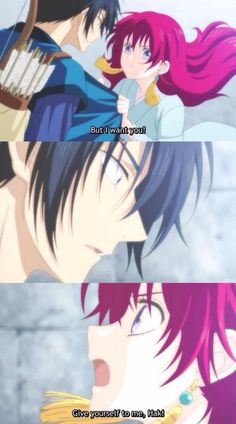 Hak and Yona Although I don't totally approve cause Hak is sssooooo awesome I just want him to be happy