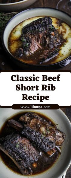 Howdy, thank you for traveling to the site, we are going to reveal more knowledge about food quality recipes to every one friends. Short Rib Marinade Recipe, Short Ribs Recipe Easy, Ribs Recipe Oven, Rib Recipes, Crockpot Recipes, Cooking Recipes, Cooking Food, Beef Short Ribs Oven, Cooking Short Ribs