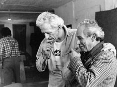 Samuel Fuller and Nicholas Ray