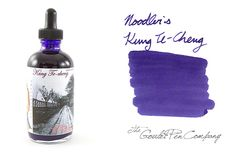 "4.5oz bottle of Noodler's Kung Te-Cheng fountain pen ink. This bottle has a built-in eyedropper. Comes with a free Noodler's ""Charlie"" eyedropper fountain pen."