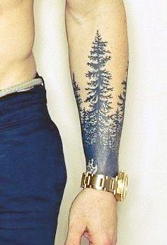 Tattoo Of Tree On Wrist For Men