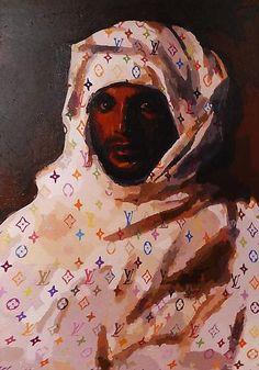 Feric Parnes - 'Neo-Orientalist' acrylic on canvas
