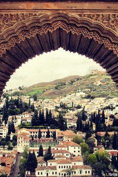 Alhambra in Granada, Spain