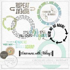 Circular Logic: Wordart :: Word Art & Titles :: Memory Scraps