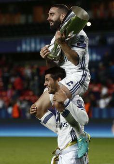 Morata, Carvajal, and the UEFA Super Cup