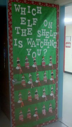 New Ideas Door Decorations Classroom Contest Elves Christmas Door Decorating Contest, School Door Decorations, Office Christmas Decorations, Christmas Themes, Christmas Lights, Christmas Ideas, Preschool Door, Preschool Christmas, Kindergarten Door