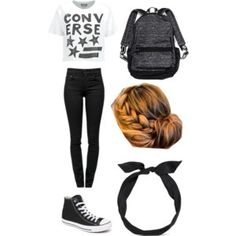 #Cute Converse Outfit!!