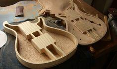 Guitar figured maple wood tops