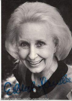 Edith Hancke(*14. Oktober1928in Berlin; †4. Juni2015ebenda) war einedeutscheSchauspielerinund Synchronsprecherin.