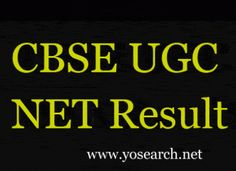 Looking for UGC NET Result 2017? Visit Yosearch for CBSE NET Result, NET Result November 2017, UGC NET Scorecard, CBSE UGC NET Result 2017 and more.