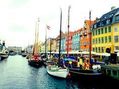 Nyhavn - Beautiful marina that is definitely worth visiting #Copenhagen