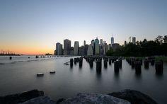 New York Skyline - Sunset - http://flic.kr/p/Fw2BAN