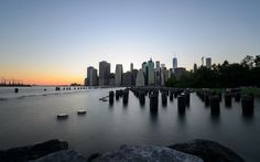 New York Skyline - Sunset - http://flic.kr/p/Fw2BAN