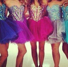 Best friends matching dresses
