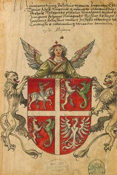 «Sammelband mehrerer Wappenbücher», [S.l.] Süddeutschland (Augsburg?), um 1530 [BSB Cod.icon. 391 -  urn:nbn:de:bvb:12-bsb00007681-8] -- Wappen des Großfürstentums Moskau (f°1r)