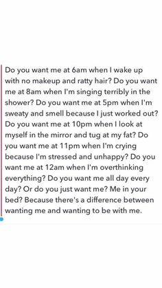 I want to be with you every single time