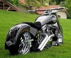 Personalizado Harley Chopper |  Melhores Motocicletas |  Choppers Totalmente Rad por lynn