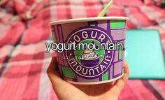 my fave yogurt spot yummy