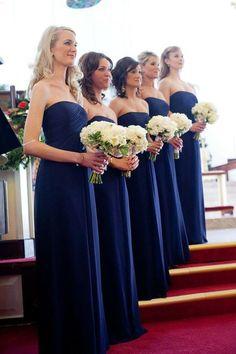 Inexpensive Royal Blue Off Shoulder Floor Length Bridesmaid Dress, BD56 #Royalblue #Bridesmaiddresses #Offshoulder