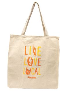 Reusable Grocery Bags, Live Love, Canvas Tote Bags, Textiles, Orange, Hawaii, Projects, Business, Bags