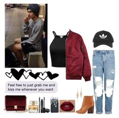 """Picking Calum up from practice"" by jillafred ❤ liked on Polyvore featuring Stussy, Topshop, Tory Burch, Tiffany & Co., Rodial, Givenchy, KC Jagger, 5sos, calumhood and 5secondsofsummer"