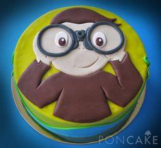 Curious George Cake - Torta de Jorge El Curioso