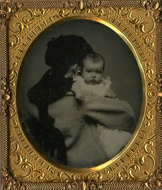 Mothers Hiding in Victorian Baby Pictures