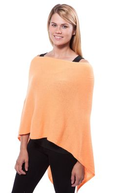 Give the perfect gift! One size fits all. Wear it 5 ways. 100% Cashmere Poncho. Comes in over 50 beautiful colors. Ship free! Save 20% use code topper20 at checkout  PaulaandChlo.com