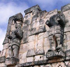 Facade at Kabah YUCATAN MEXICO