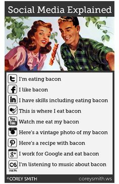 It can all be explained with bacon!