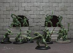 El Descanso del Escriba: El diorama de Boris Woloszyn sobre Heroquest de MB...