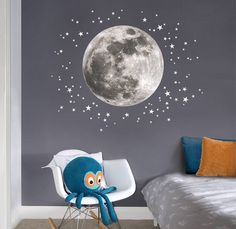 The Magic og Night Sky in Kids Room - by Kids Interiors