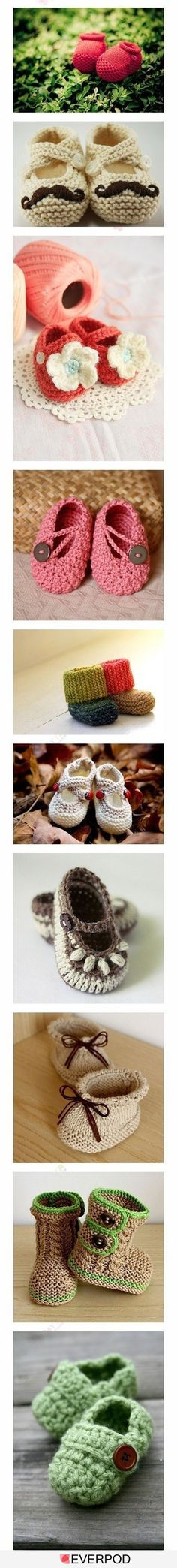 these are adorable! if I ever have a baby girl one day I will learn to crochet just so I can make these for her.