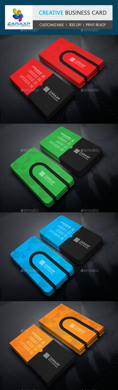 Corporate Business Card Template #design Download: http://graphicriver.net/item/corporate-business-card/11159375?ref=ksioks