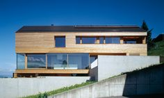 Ivan Cavegn house Beck-Soellner