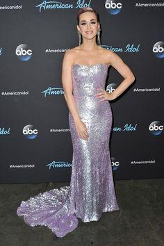 "Katy Perry wears Romona Keveža - American Idol ""The Live Shows"" Premiere Bustier Dress, Sequin Dress, Katy Perry, American Women, American Idol, Dress Makeup, Mermaid Prom Dresses, Stunning Dresses, Buy Dress"