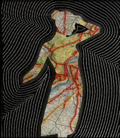 At a Crossroads Philadelphia Map, Lascaux, Art Plastique, Les Oeuvres, Aurora Sleeping Beauty, Portraits, Abstract, Creative, Artwork