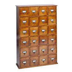 Library Style Storage - Walnut