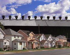 John_Sanderson_1_Steel Mill and Houses, Lackawanna (2009)
