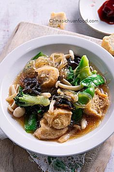 Soup Recipes, Vegetarian Recipes, Cooking Recipes, Healthy Recipes, Cantonese Cuisine, Chinese Vegetables, Vegetable Stew, Chinese Vegetable Soup, Asian Soup