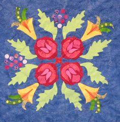 Barbara Brackman's MATERIAL CULTURE: Looking for the Garden Quilt: The Original