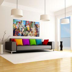 1000 images about schilderijen on pinterest deco glasses and autumn love - Grijze muur deco ...